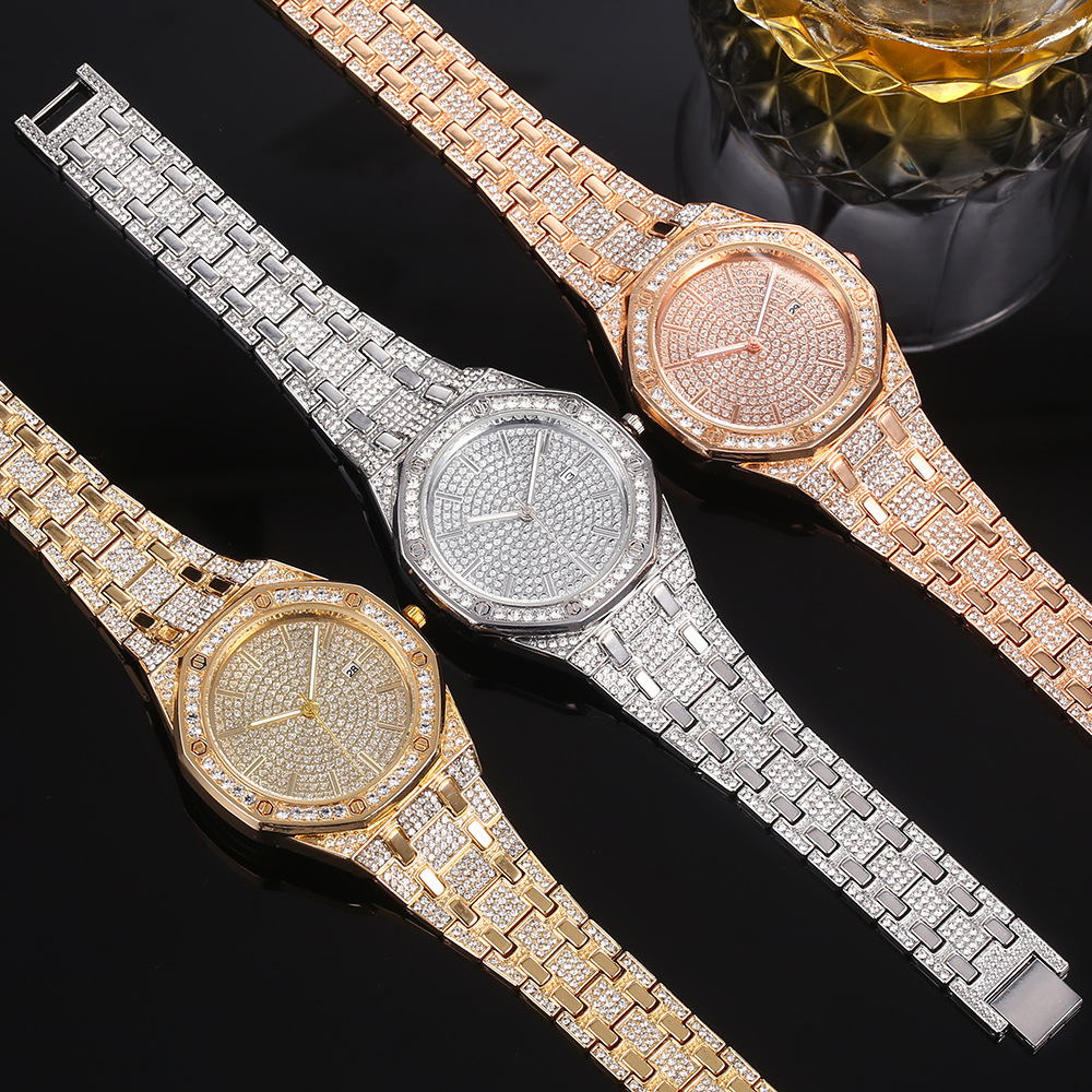 Watch Diamonds stainless steel Free Shipping(8)